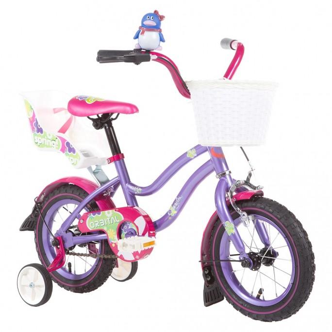 """ORBITAL SPRING KIDS 12"""" - Pink / Purple"""