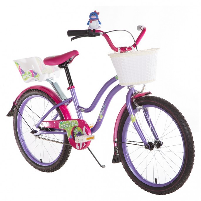 "ORBITAL SPRING KIDS 20"" - Pink / Purple"