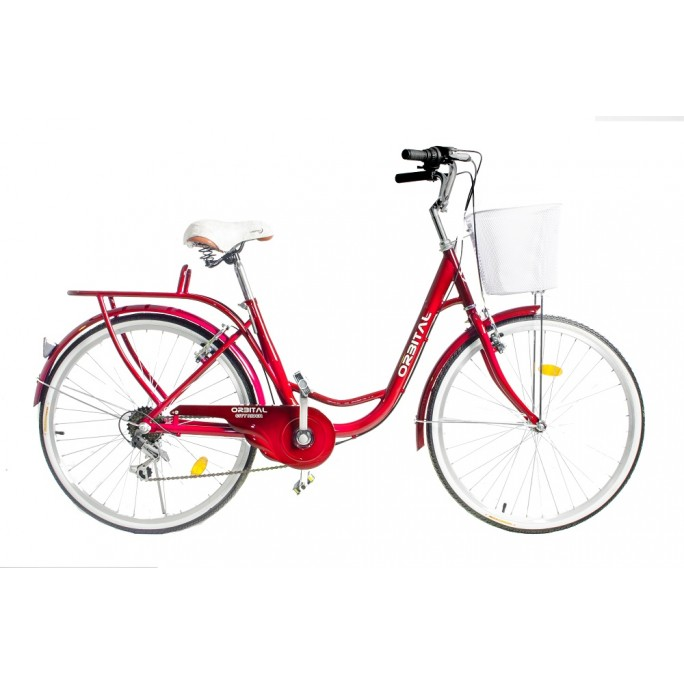 "ORBITAL CITY RIDER 26"" - Rojo"